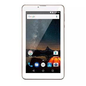 Tablet Multilaser M7S Plus Dourado Quad Core 1GB RAM Android 7 Dual Câm 1.3/2MP Tela 7`` 8Gb Bluetooth NB276