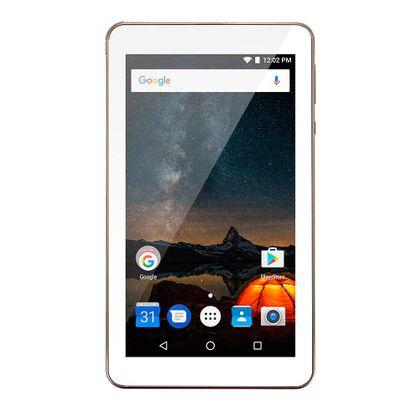 Tablet Multilaser M7S Plus Quad Core Câmera Wi-Fi 1 Gb de Ram Tela 7 Pol. Memória 8Gb Dourado - NB276 NB276
