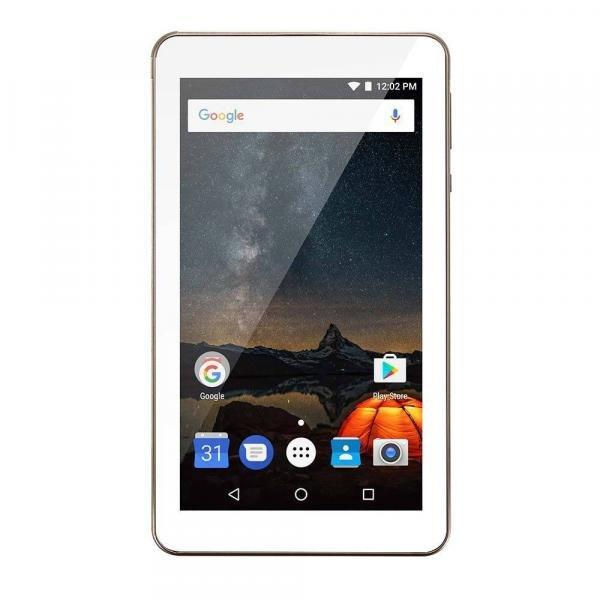 Tablet Multilaser M7S Plus Quad Core Câmera Wi-Fi 1 GB de RAM Tela 7 Pol Memória 8GB Dourado - NB276