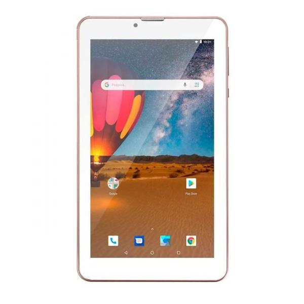 Tablet Multilaser NB305 M7 Wi Fi 3G Plus 16GB Quad Core Rosa