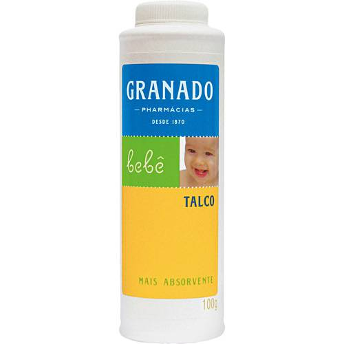 Talco Bebê 100g - Granado