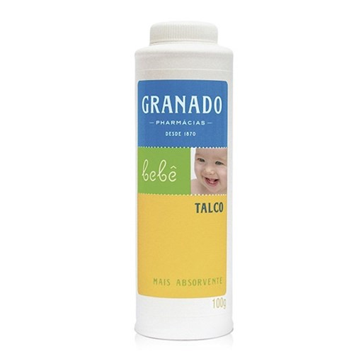 Talco Granado Bebê 100G