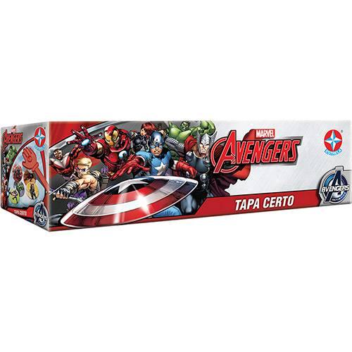 Tudo sobre 'Tapa Certo Avengers - Estrela'