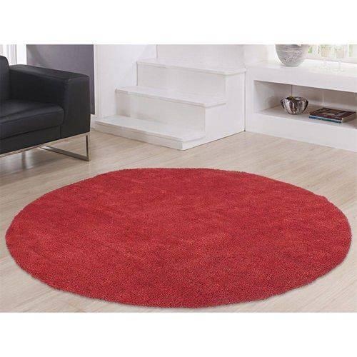 Tudo sobre 'Tapete 1,50m Redondo Apolo Vermelho Prata Têxtil'