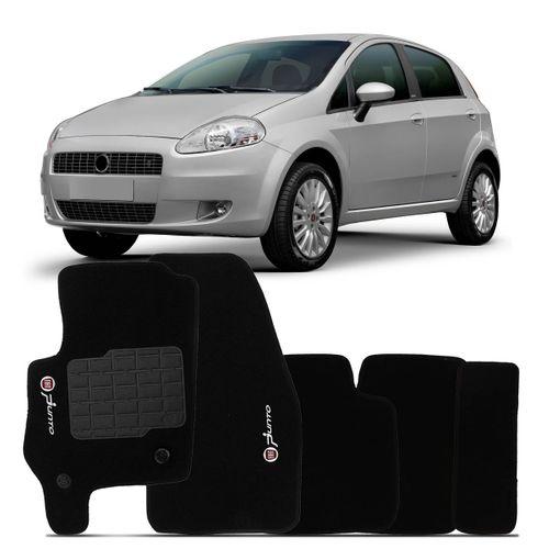 Tudo sobre 'Tapete Carpete Punto Preto 2007 2008 2009 2010 2011 2012 Logo Bordado Fiat 2 Lados Dianteiro'