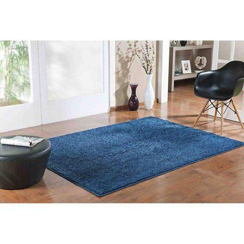 Tudo sobre 'Tapete Classic 1,00m Larg X 1,50m Comp Azul Jeans'
