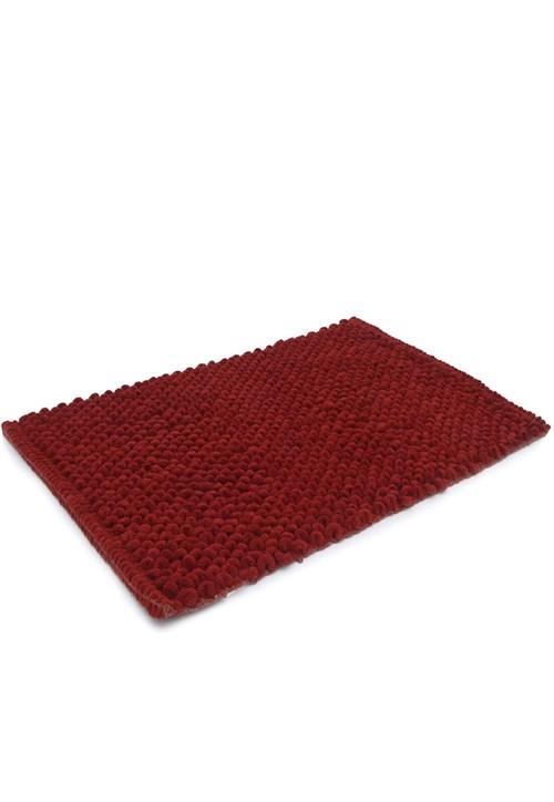 Tapete de Banheiro Camesa Micropop Vermelho