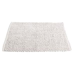 Tapete de Banheiro Micropop Branco