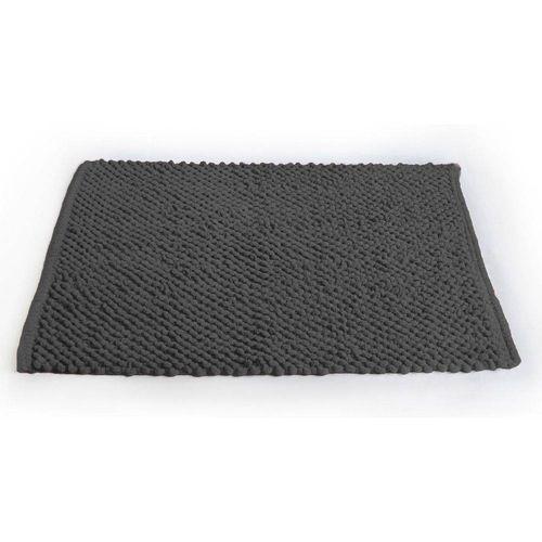 Tapete de Banheiro Micropop Cinza