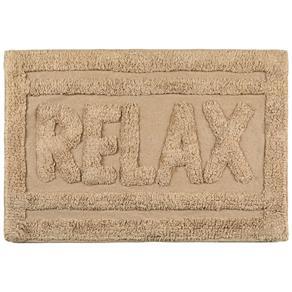 Tapete de Banheiro Relax Bege