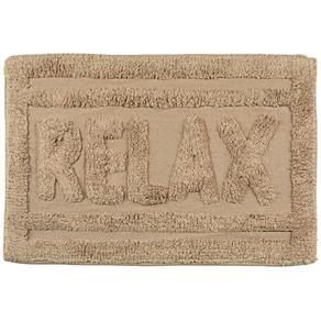 Tapete de Banheiro Relax Caramelo