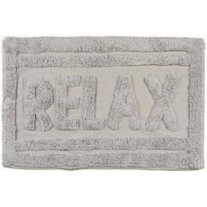 Tapete de Banheiro Relax Cinza
