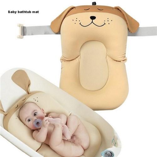 Tapete de Banho do Bebê / Rosa Claro