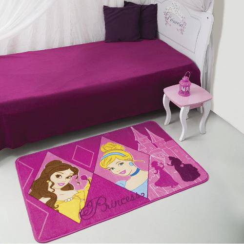 Tapete Disney Princesas 080x120cm - Jolitex