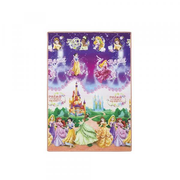 Tapete Infantil Recreio Enrolado Dupla Face Princesas Disney - Jolitex - Casatema