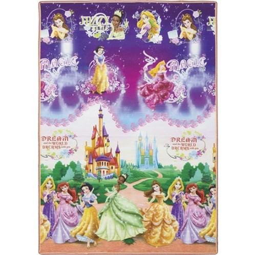 Tapete Infantil Recreio Princesas Multicolorido 1,20x1,80m