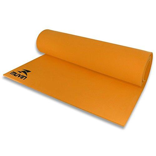 Tapete para Yoga/Pilates em Eva - Muvin - 180X60X6mm - Laranja