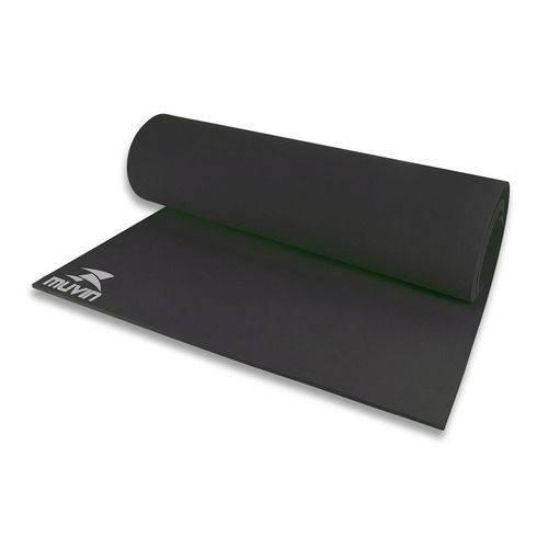 Tapete para Yoga Tpy-0301 Muvin / Comprimento 1,80m / Eva / Preto