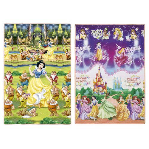 Tapete Recreio Disney Princesas Roxo 120 X 180cm