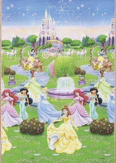 Tapete Recreio Princesas Disney 120x180 Jolitex