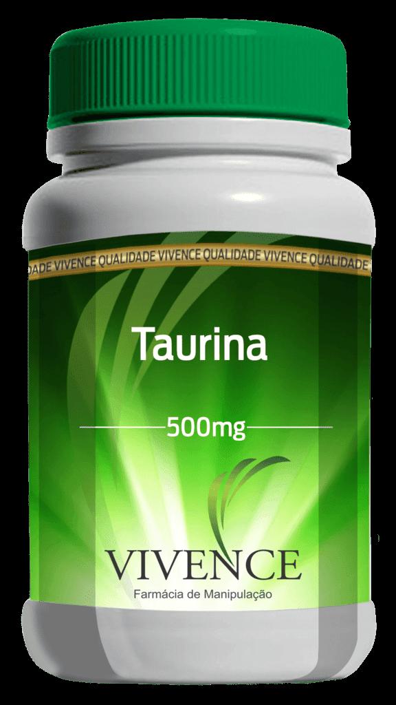Taurina 500 Mg (60 Cápsulas)