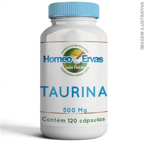 Taurina 500Mg - 120 Cápsulas