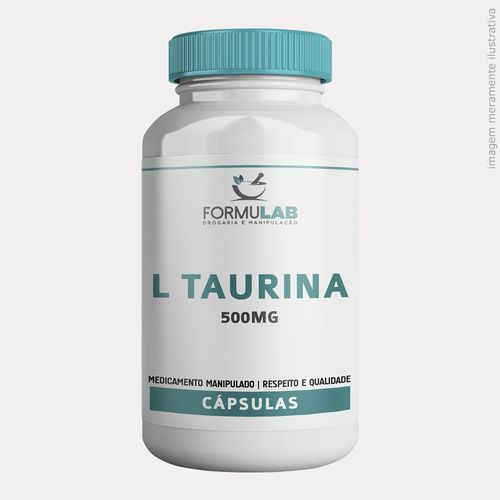 Taurina 500mg-180 Cápsulas