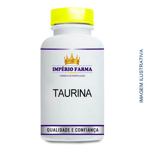 Taurina 500Mg (60 Cápsulas)