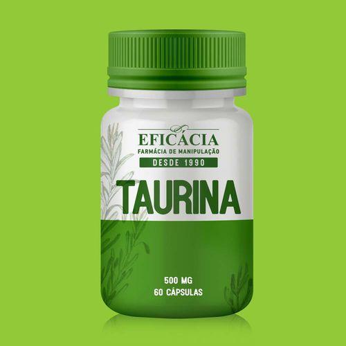 Taurina 500mg - 60 Cápsulas