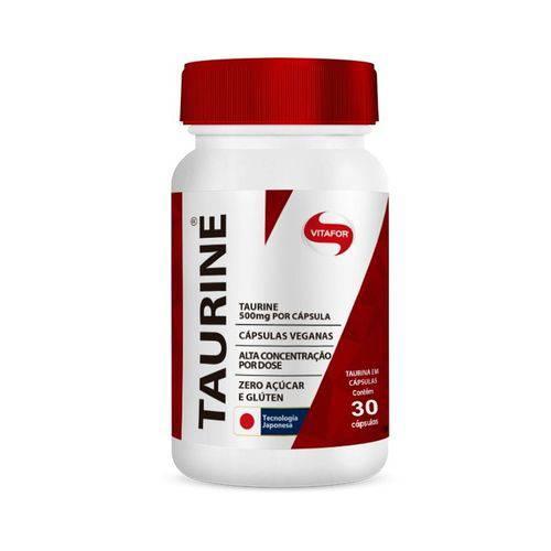 Taurine 500mg 30 Caps - Vitafor