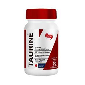 Taurine 500Mg 60 Caps - Vitafor