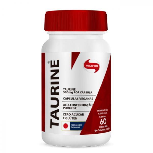 Taurine (500mg) - Vitafor