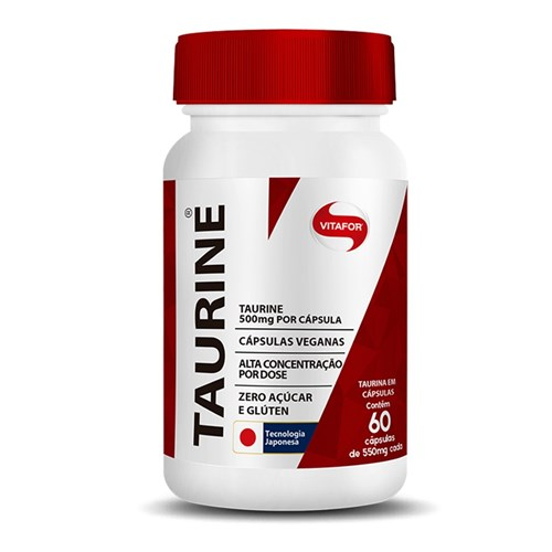 Taurine 60 Caps - VitaFor