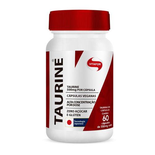 Taurine Vitafor 60 Cápsulas de 550mg