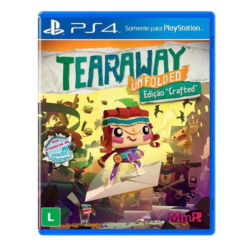 Tudo sobre 'Tearaway: Unfolded - Ps4'