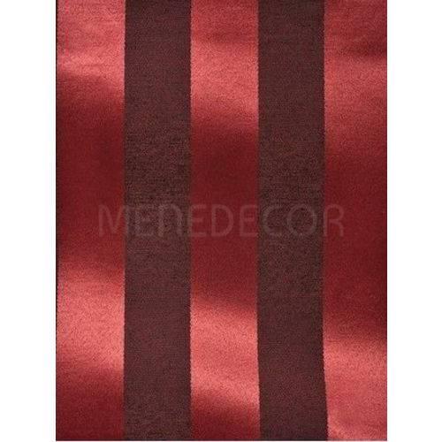 Tecido Jacquard Vermelho e Preto Medalhão ou Listrado 2,80m