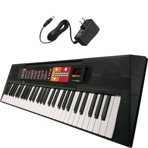 Teclado Arranjador Yamaha PSRF51 com Fonte