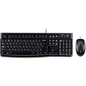 Teclado e Mouse Logitech Desktop Mk120 Usb - 920-004429