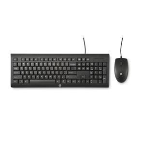 Teclado e Mouse USB Preto C2500 com Fio