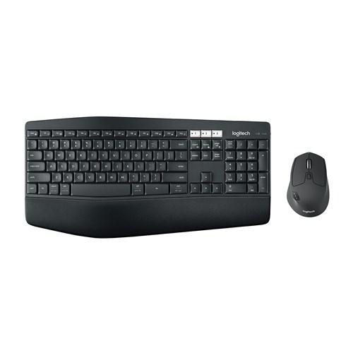 Teclado e Mouse Wireless Mk850 Logitech Preto
