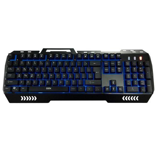 Teclado Gamer Fusion Tc204 Preto - Oex