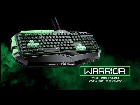 Teclado Gamer Warrior Tc 199