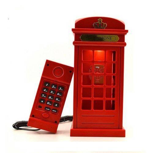 Tudo sobre 'Telefone Cabine Vintage'
