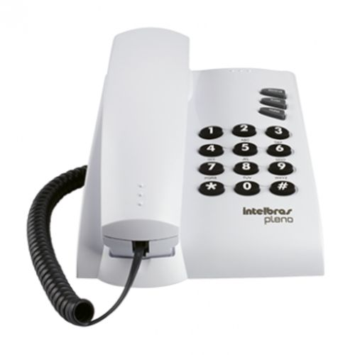 Telefone com Fio Pleno Cinza Artico - Intelbras
