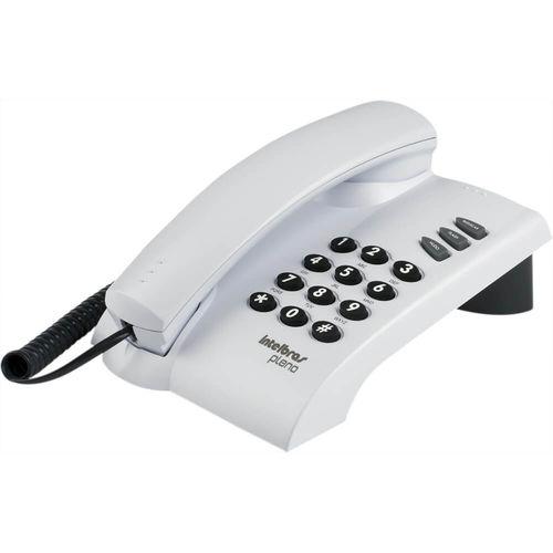 Telefone com Fio Intelbras 4080055 Pleno Cinza Artico