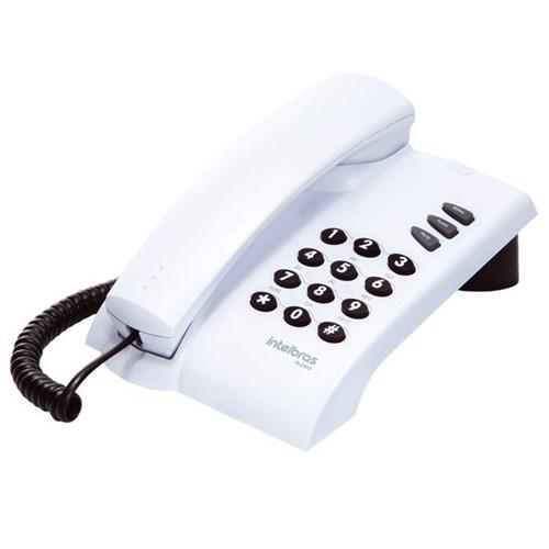 Telefone com Fio Intelbras Pleno Cinza Ártico