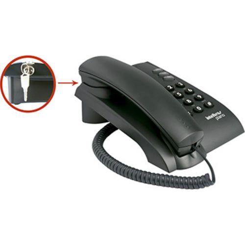 Telefone com Fio Intelbras Pleno com Chave de Bloqueio