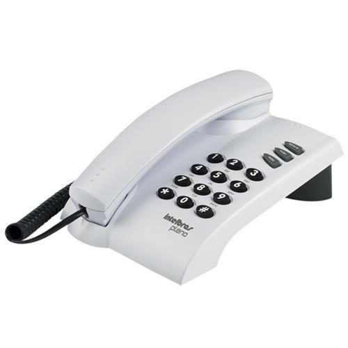 Telefone com Fio Pleno Cinza Artico - 4080055 - Intelbras