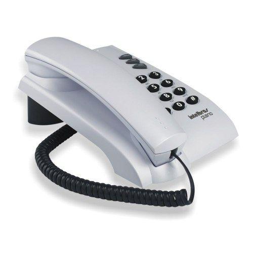 Telefone com Fio Pleno Intelbras ( Cinza Ártico )