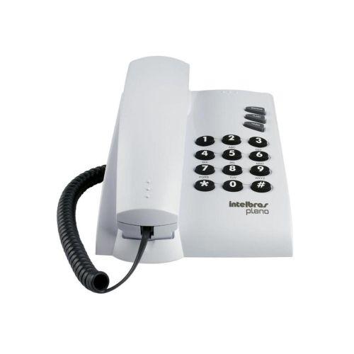 Telefone com Fio Pleno Intelbras -cinza Artico